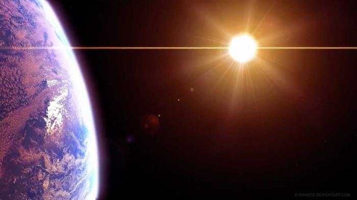 The Sun Alone atSunset